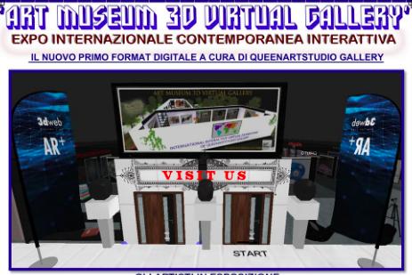 Art Museum 3d virtual Gallery con Chiara di Salvo